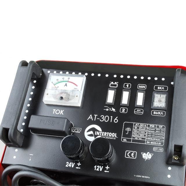 Пускозарядное устройство 10000 mАч INTERTOOL AT-3009 - 2