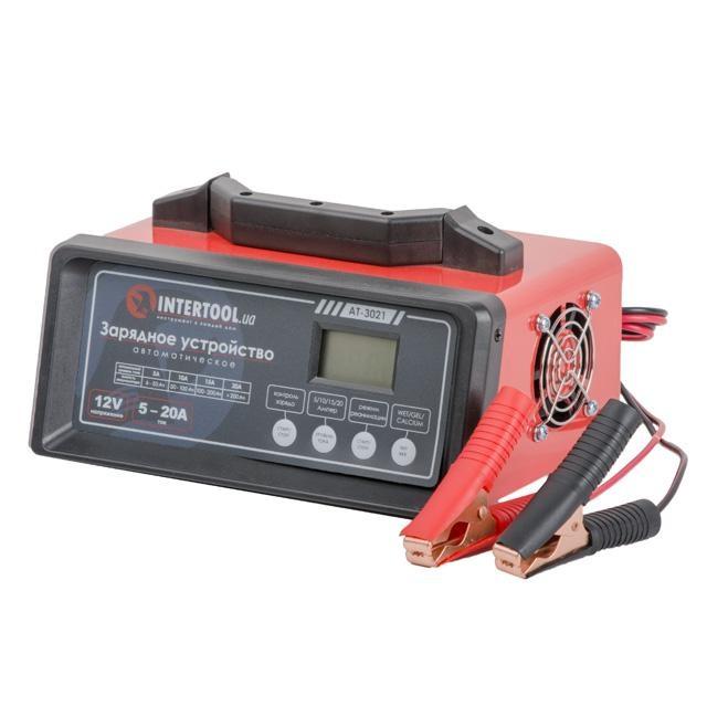 Зарядное устройство 12В, 5-20А, 230В INTERTOOL AT-3021 - 1