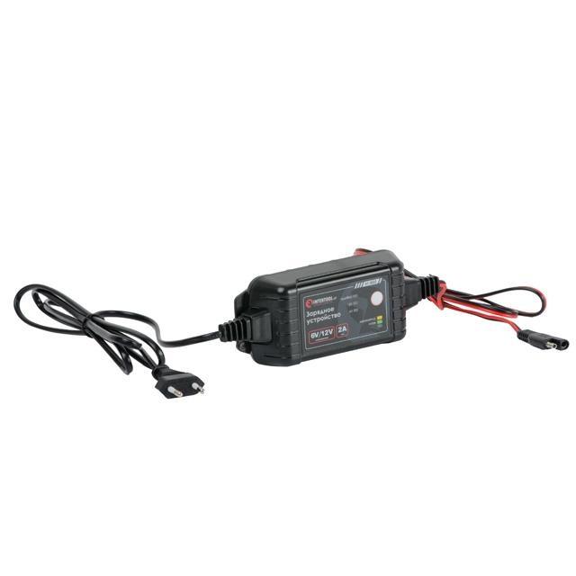 Зарядное устройство 6-12В, 2А, 230В INTERTOOL AT-3022 - 1