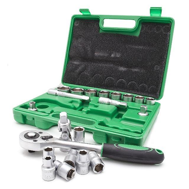 Набор инструмента 21 ед. INTERTOOL ET-6021SP - 2