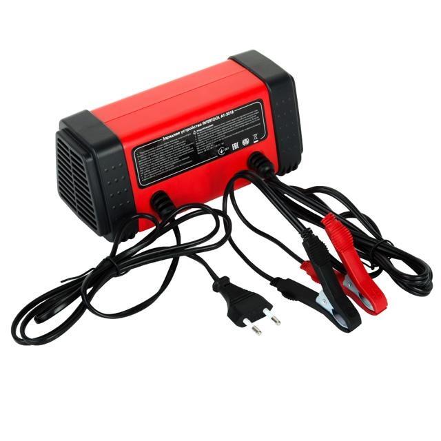 Зарядное устройство 6-12В, 4-8A, 230В INTERTOOL AT-3018 - 2