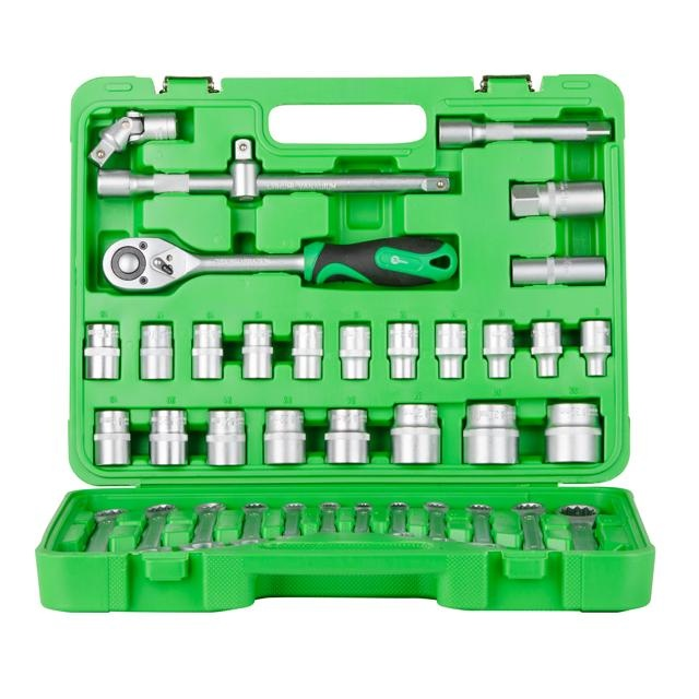 Набор инструментов 38 ед. INTERTOOL ET-6038SP - 2