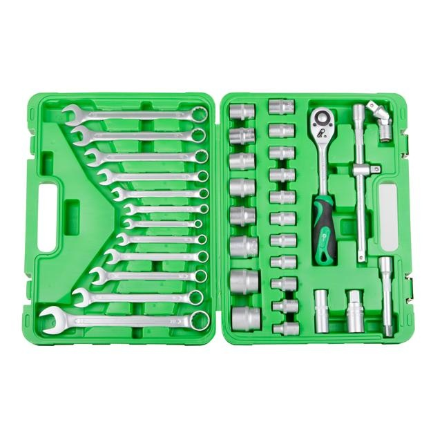 Набор инструментов 38 ед. INTERTOOL ET-6038SP - 1