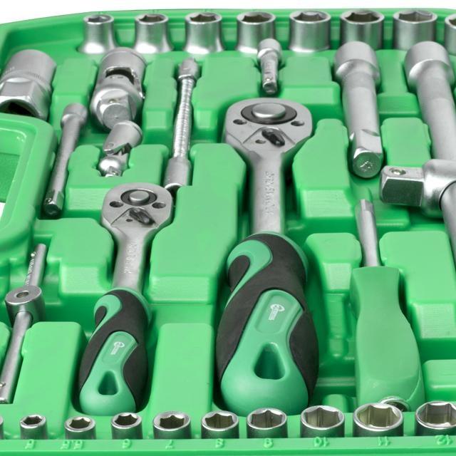 Набор инструментов 94 ед. INTERTOOL ET-6094SP - 3