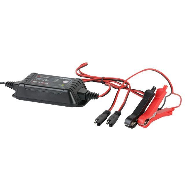 Зарядное устройство 6-12В, 2А, 230В INTERTOOL AT-3022 - 2