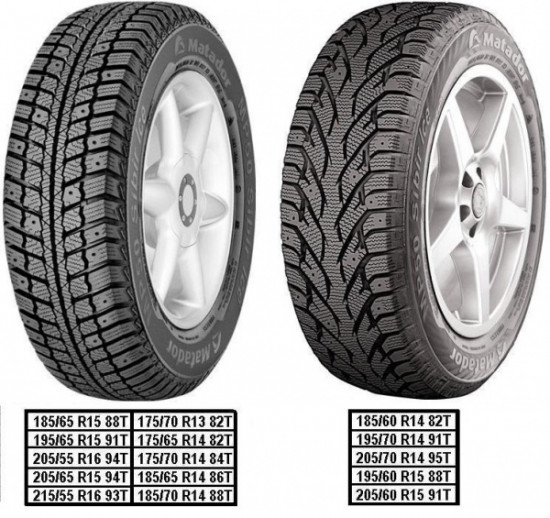 Matador MP 50 Sibir Ice 195/65 R15 91T  не шип - 92906