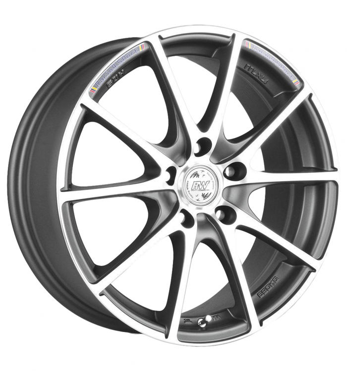 Racing Wheels H-490 DDN-F/P R14 W6 PCD 4x98 ET 38 DIA 58,6