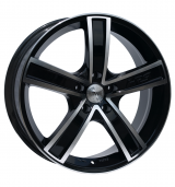 Racing Wheels H-412 BK-F/P R15 W6,5 PCD 5x110 ET 35 DIA 65,1