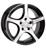 Racing Wheels H-531 BK-F/P R16 W7 PCD 4x114,3 ET 40 DIA 67,1