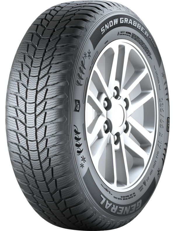 General Tire Snow Grabber Plus 255/50 R19 107V XL не шип