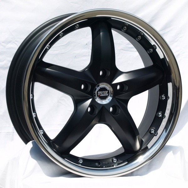 Racing Wheels H-303 BK/P R17 W7 PCD5x112 ET35 DIA73,1