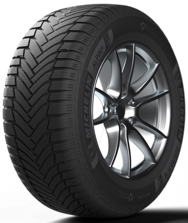 Michelin Alpin 6 205/55 R17 95V XL не шип